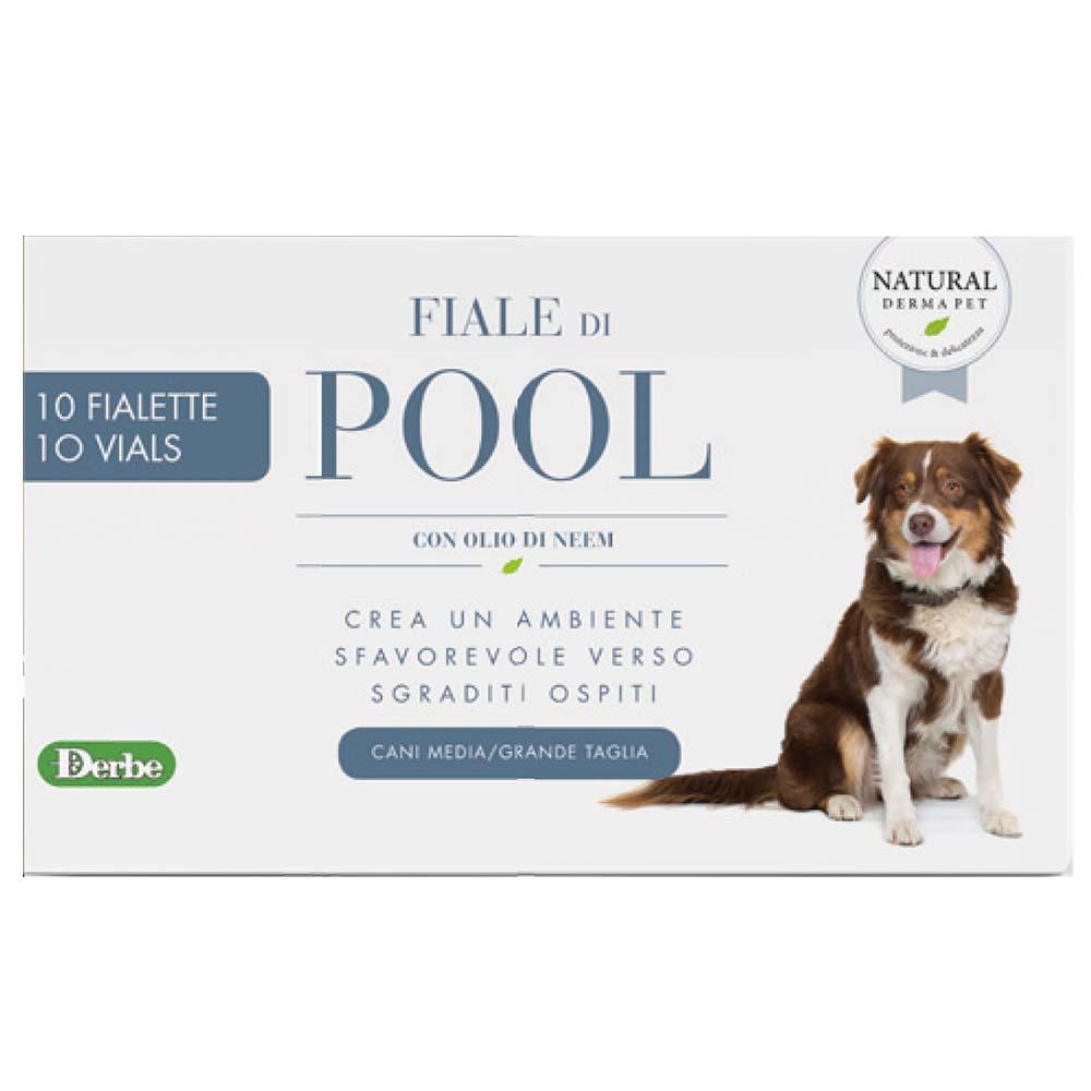Fiale di pool - fiale per cani con olio di neem che creano un effetto barriera contro parassiti e insetti