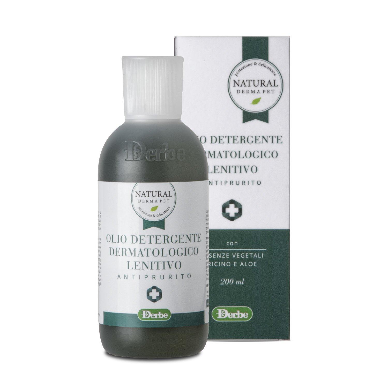 Olio detergente lenitivo antiprurito per cani - Natural Derma Pet
