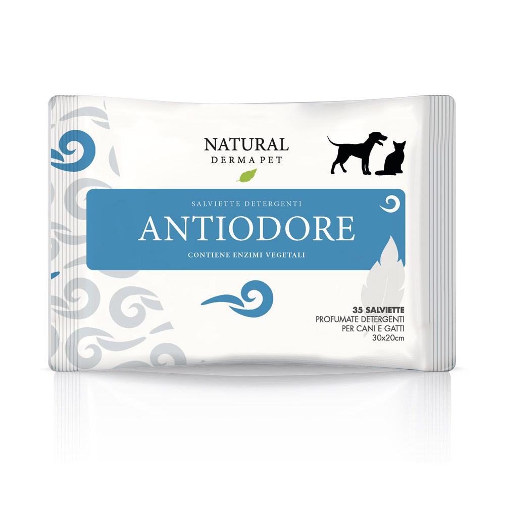 Salvietta anti odore per cani