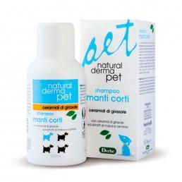 Shampoo per cani con manti corti - Natural Derma Pet