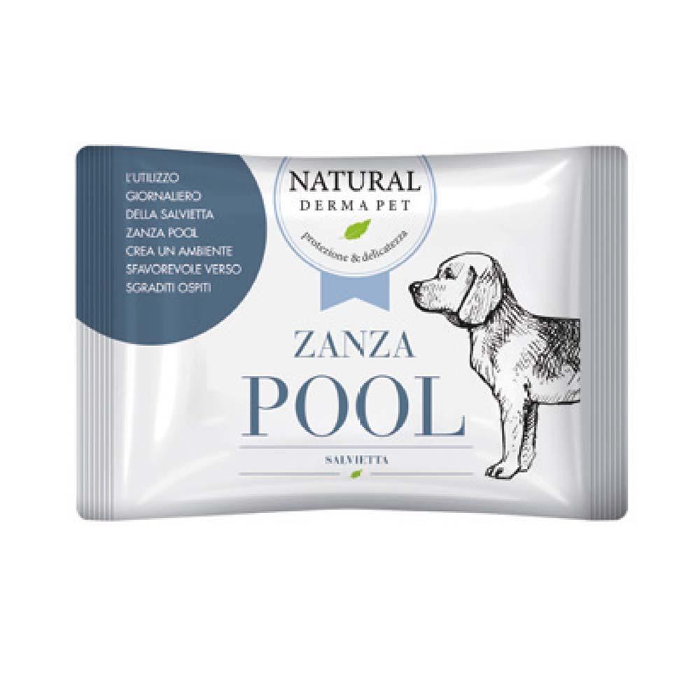 Zanza Pool - Salvietta antizanzare naturale per cani