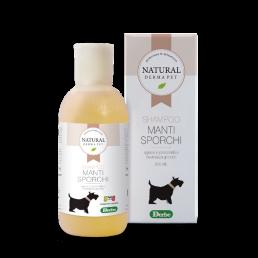 Prodotto naturale per cani - shampoo per manti sporchi