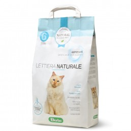 Lettiera naturale anti odore per gatti - Natural Derma Pet