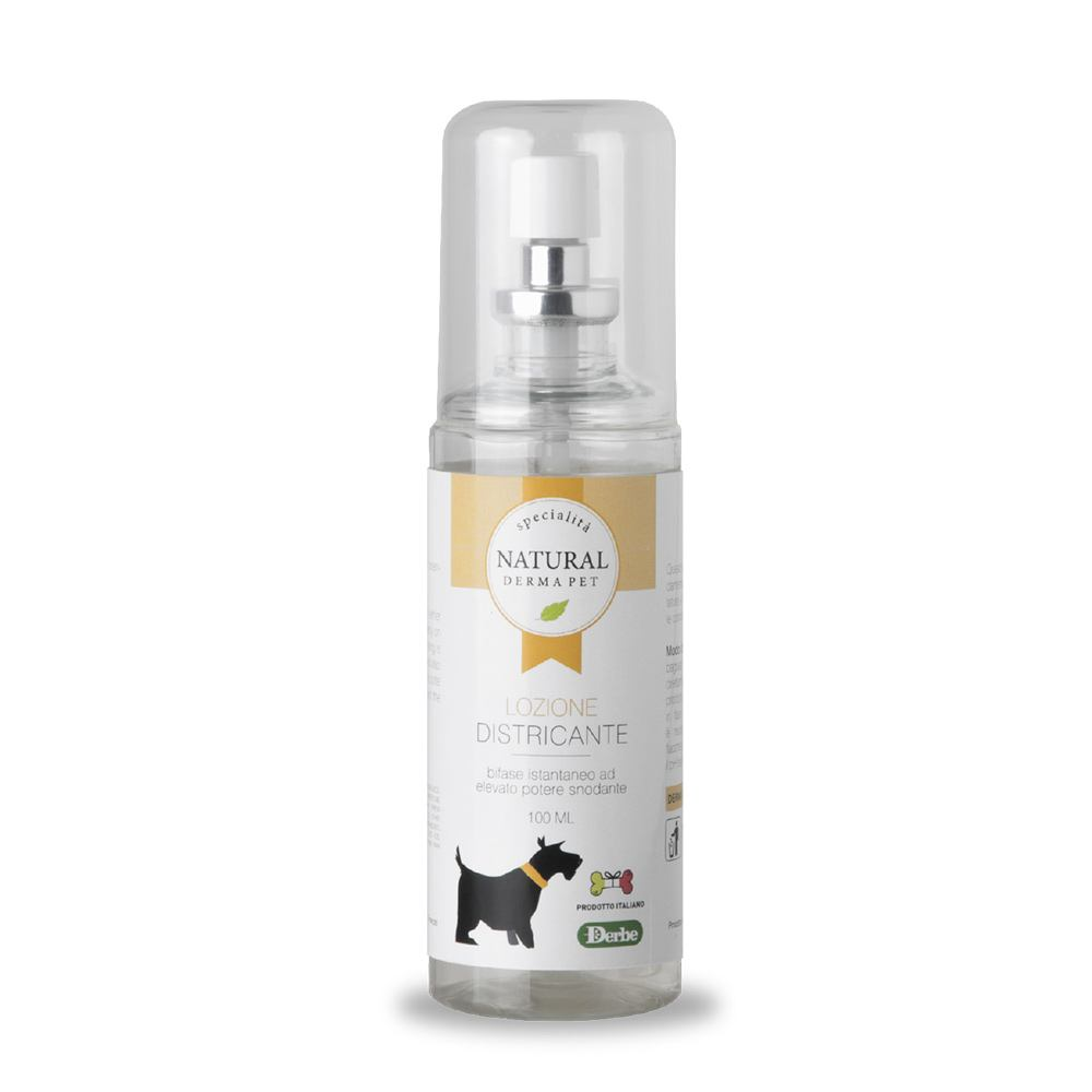 Lozione districante per cani - Natural Derma Pet