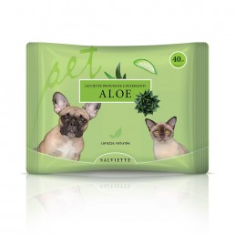 Salvietta per cani e gatti all'aloe - Natural Derma Pet