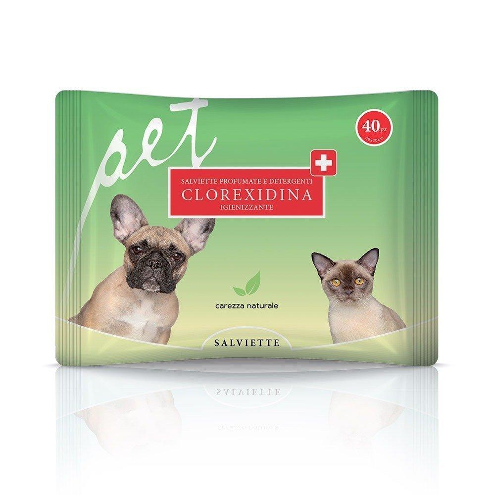Salvietta per cani e gatti alla clorexidina - Natural Derma Pet