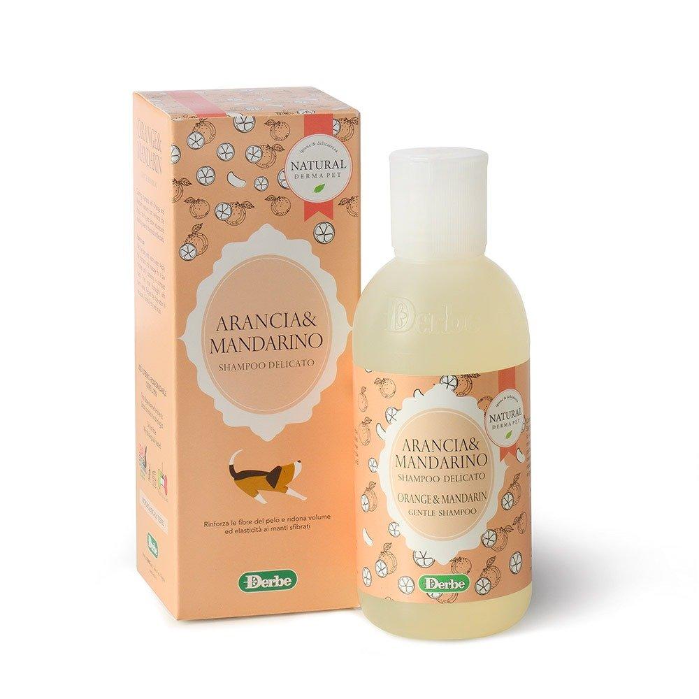 Shampoo alla frutta per cani e gatti - Arancia e mandarino - Natural Derma Pet