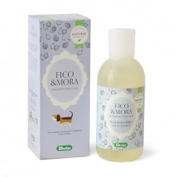 Shampoo alla frutta per cani e gatti - Fico e mora - Natural Derma Pet