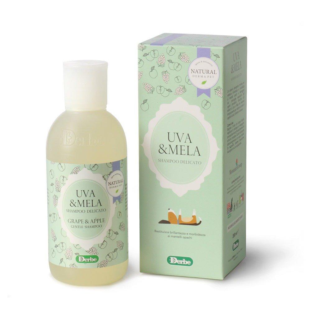 Shampoo alla frutta per cani e gatti - Uva e mela - Natural Derma Pet