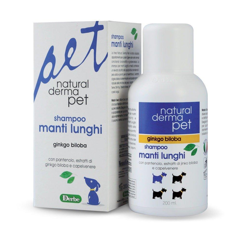 Shampoo per cani a pelo lungo - Natural Derma Pet