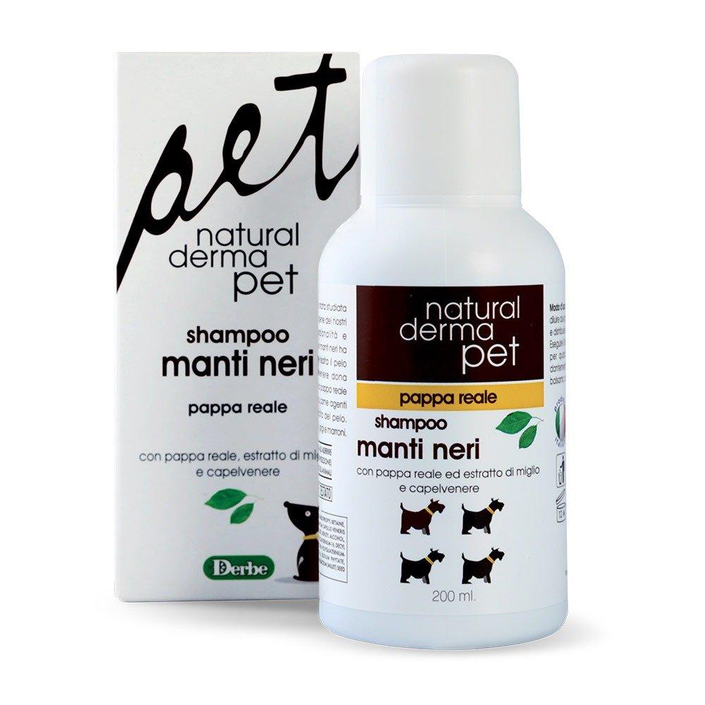 Shampoo per cani con pelo scuro - Natural Derma Pet