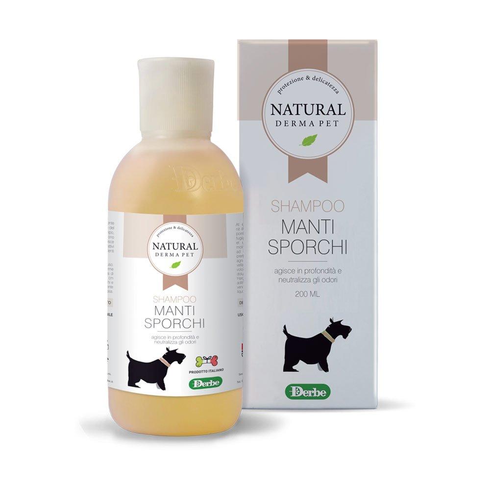 Shampoo per cani con pelo sporco - Natural Derma Pet
