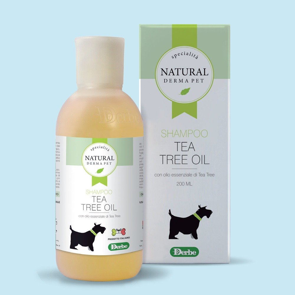 Shampoo tea tree oil per cani - Natural Derma Pet